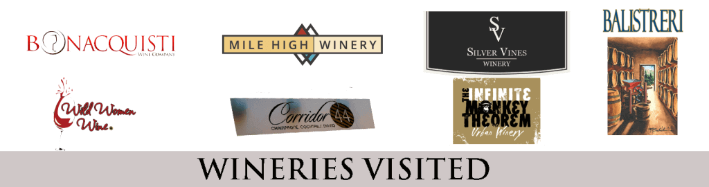 Mile-High-Wine-TOUR-wineries-visited