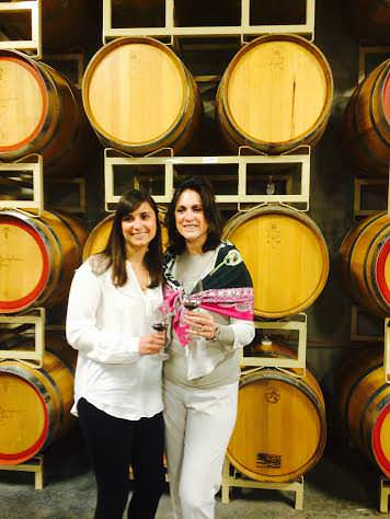 Picture at wine Barrels - Mile High Wine Tours