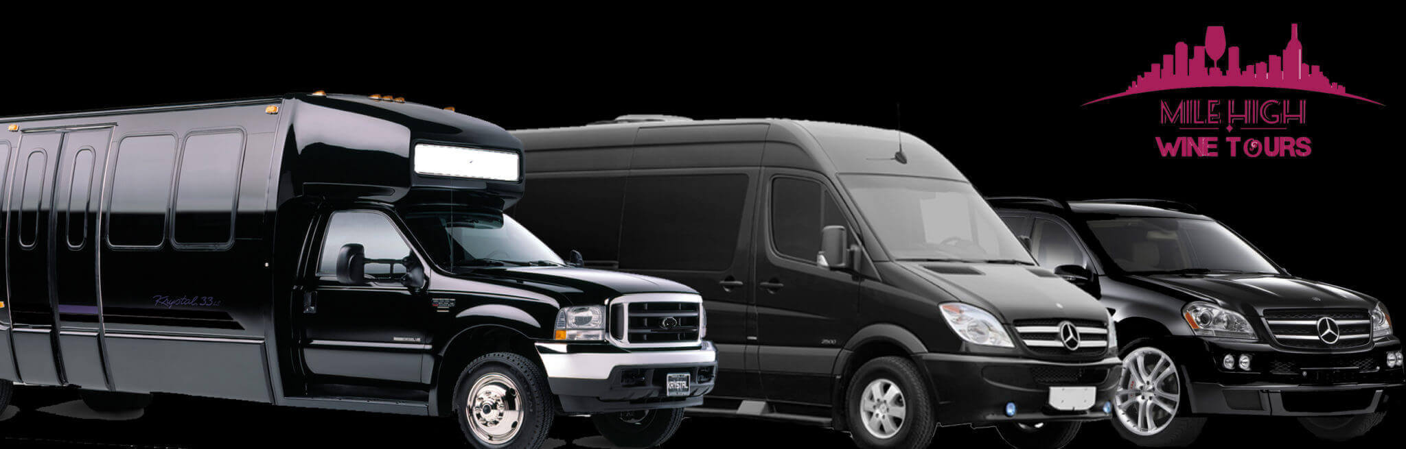 Mile High Wine Tours Fleet