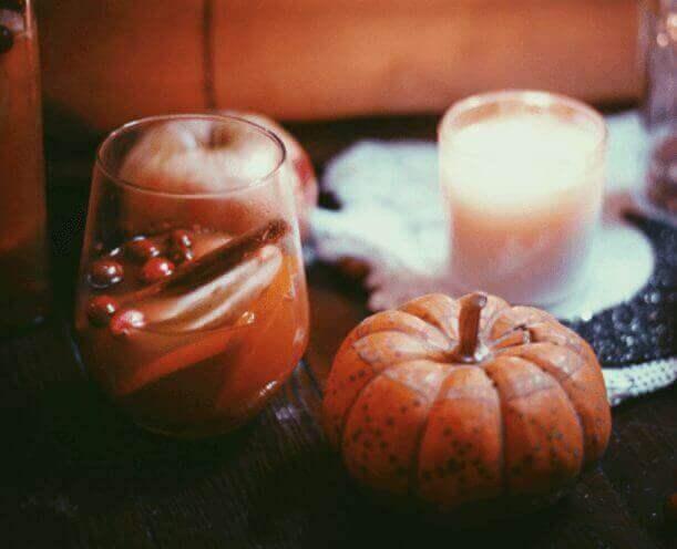 Pumpkin, Cinnamon & Apple Spiced Sangria