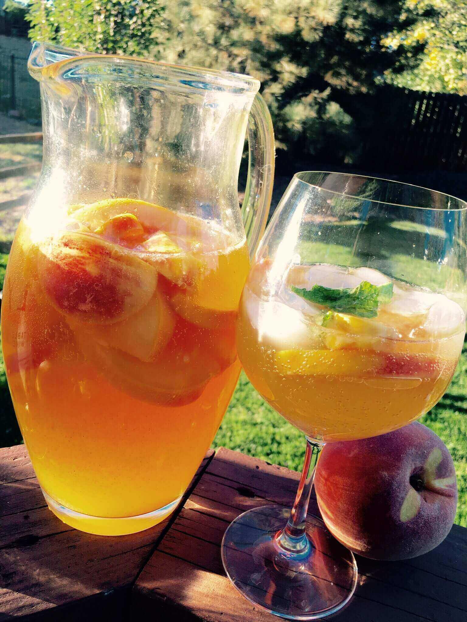Palisade Peach Sangria