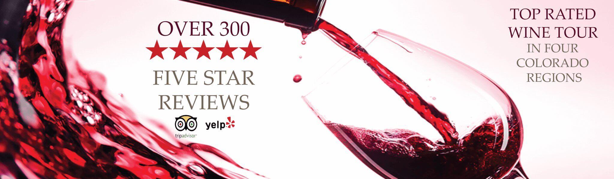 Wine Banner - Denver Mile High Wine Tours