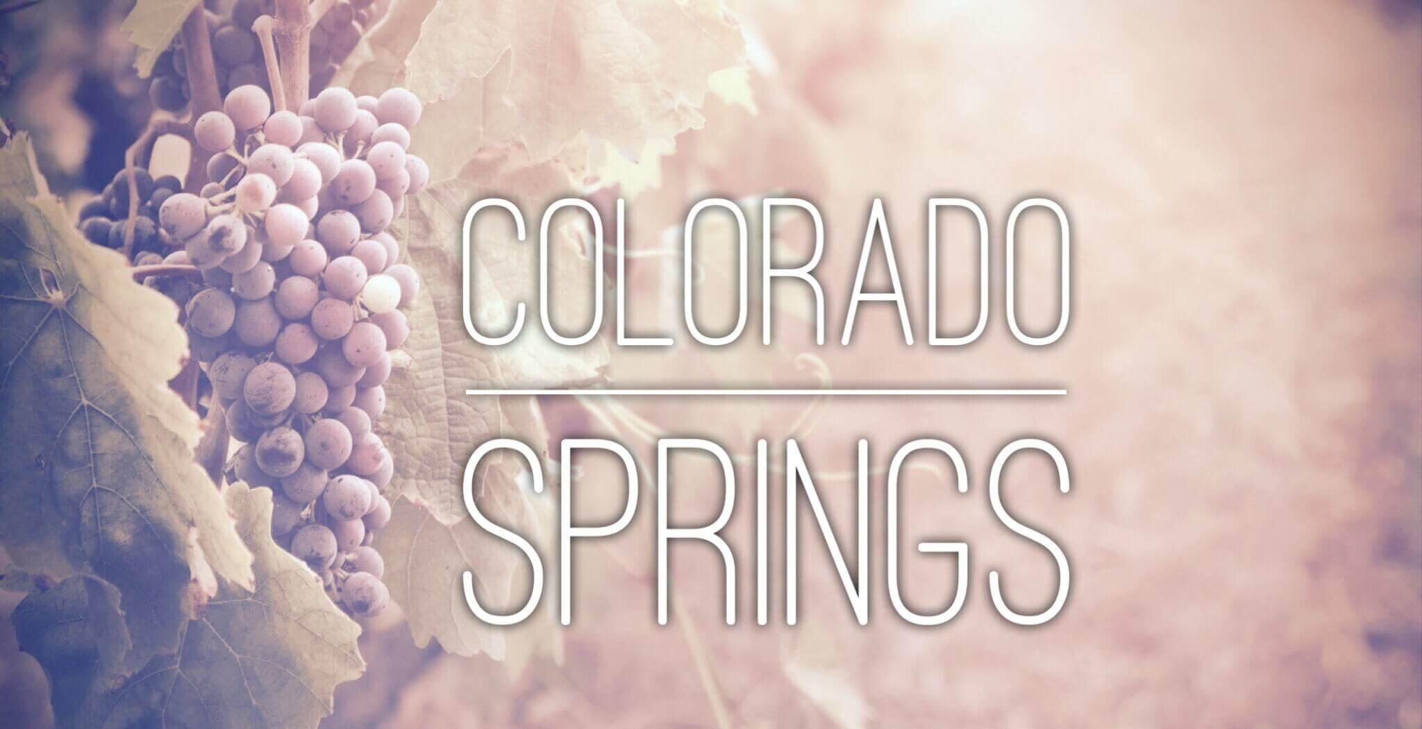 Colorado Springs - Mile High Wine Tours