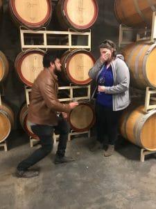 Denver wine tasting marriage proposal