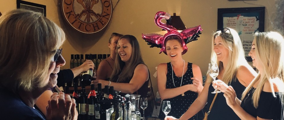 bachelorette party pics - Mile High Wine Tours