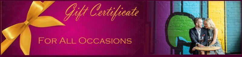 Gift Certificate Purple - Mile High Wine Tours